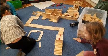 bygge på mattan